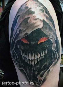 фото идея тату дьявол 18.12.2018 №269 - photo idea tattoo devil - tattoo-photo.ru
