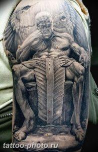 фото идея тату дьявол 18.12.2018 №276 - photo idea tattoo devil - tattoo-photo.ru