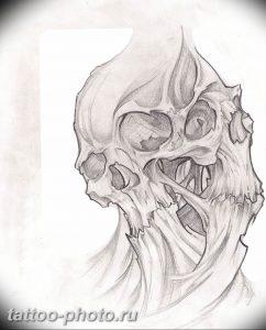 фото идея тату дьявол 18.12.2018 №278 - photo idea tattoo devil - tattoo-photo.ru