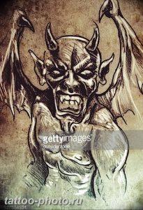 фото идея тату дьявол 18.12.2018 №281 - photo idea tattoo devil - tattoo-photo.ru