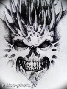фото идея тату дьявол 18.12.2018 №283 - photo idea tattoo devil - tattoo-photo.ru