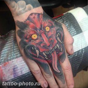 фото идея тату дьявол 18.12.2018 №307 - photo idea tattoo devil - tattoo-photo.ru