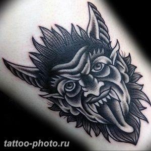 фото идея тату дьявол 18.12.2018 №320 - photo idea tattoo devil - tattoo-photo.ru