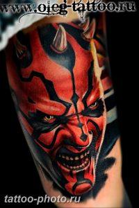 фото идея тату дьявол 18.12.2018 №325 - photo idea tattoo devil - tattoo-photo.ru