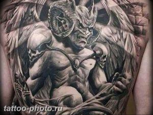 фото идея тату дьявол 18.12.2018 №331 - photo idea tattoo devil - tattoo-photo.ru