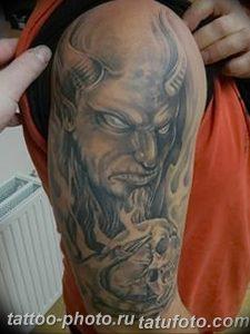 фото идея тату дьявол 18.12.2018 №332 - photo idea tattoo devil - tattoo-photo.ru