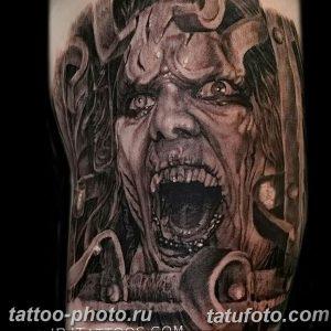 фото идея тату дьявол 18.12.2018 №343 - photo idea tattoo devil - tattoo-photo.ru