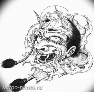 фото идея тату дьявол 18.12.2018 №347 - photo idea tattoo devil - tattoo-photo.ru