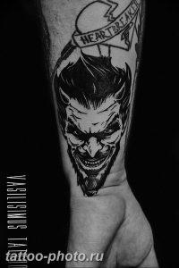 фото идея тату дьявол 18.12.2018 №356 - photo idea tattoo devil - tattoo-photo.ru