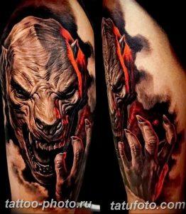 фото идея тату дьявол 18.12.2018 №363 - photo idea tattoo devil - tattoo-photo.ru