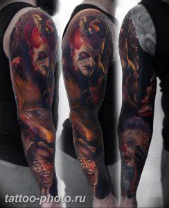 фото идея тату дьявол 18.12.2018 №375 - photo idea tattoo devil - tattoo-photo.ru