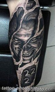 фото идея тату дьявол 18.12.2018 №381 - photo idea tattoo devil - tattoo-photo.ru