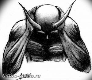 фото идея тату дьявол 18.12.2018 №405 - photo idea tattoo devil - tattoo-photo.ru