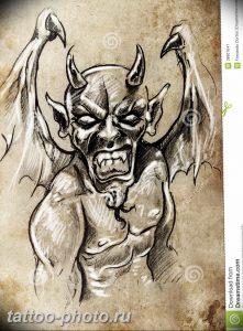 фото идея тату дьявол 18.12.2018 №425 - photo idea tattoo devil - tattoo-photo.ru