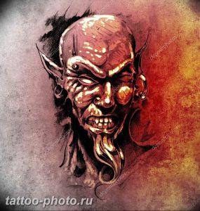 фото идея тату дьявол 18.12.2018 №426 - photo idea tattoo devil - tattoo-photo.ru