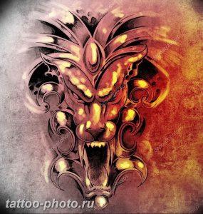фото идея тату дьявол 18.12.2018 №427 - photo idea tattoo devil - tattoo-photo.ru