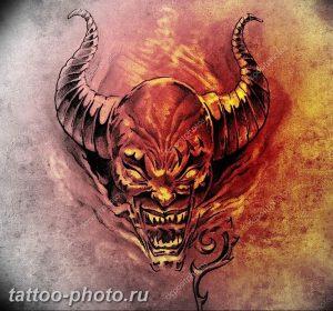 фото идея тату дьявол 18.12.2018 №428 - photo idea tattoo devil - tattoo-photo.ru