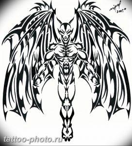фото идея тату дьявол 18.12.2018 №431 - photo idea tattoo devil - tattoo-photo.ru
