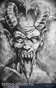 фото идея тату дьявол 18.12.2018 №432 - photo idea tattoo devil - tattoo-photo.ru