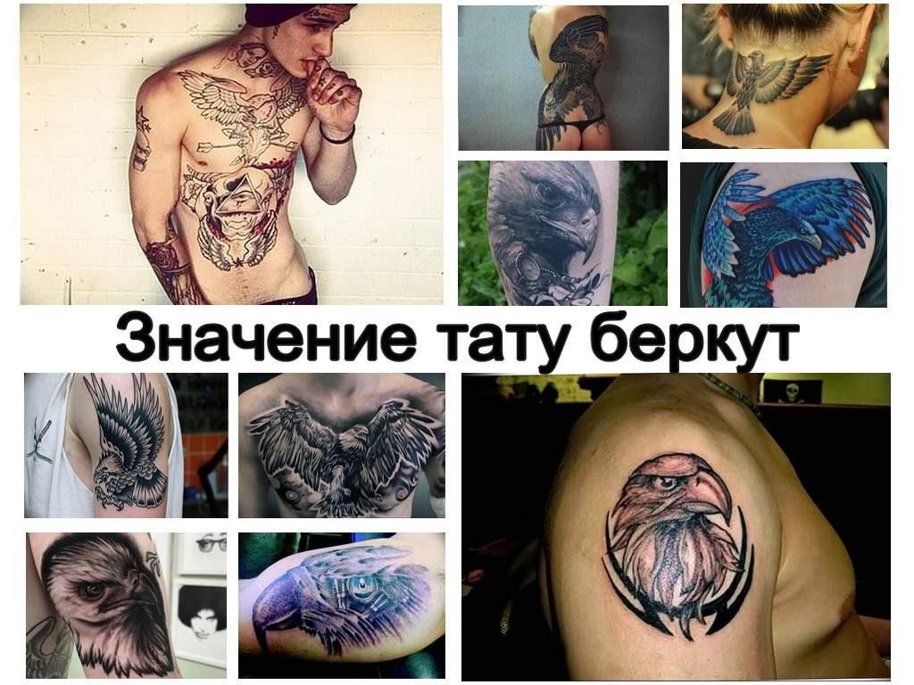 Значение тату беркут - коллекция интересных фото примеров рисунка татуировки