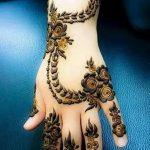 Фото Арабское мехенди 11.10.2018 №008 - Arab mehendi - tattoo-photo.ru