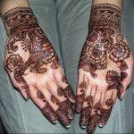 Фото Арабское мехенди 11.10.2018 №017 - Arab mehendi - tattoo-photo.ru