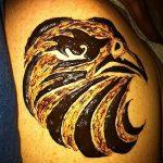 Фото Мехенди птица 26.10.2018 №018 - Mehendi bird photo - tattoo-photo.ru