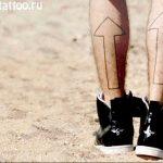 Фото Тату Джареда Лето 11.10.2018 №049 - Jared Leto Tattoo - tattoo-photo.ru