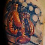 Фото рисунка тату боксерские перчатки 31.10.2018 №014 - tattoo boxing - tattoo-photo.ru