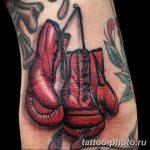 Фото рисунка тату боксерские перчатки 31.10.2018 №025 - tattoo boxing - tattoo-photo.ru