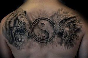 Фото рисунка тату дракон 12.10.2018 №017 - dragon tattoo - tattoo-photo.ru