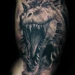 Фото рисунка тату дракон 12.10.2018 №023 - dragon tattoo - tattoo-photo.ru