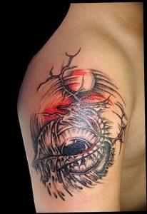 Фото рисунка тату дракон 12.10.2018 №049 - dragon tattoo - tattoo-photo.ru