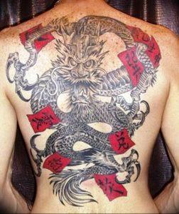 Фото рисунка тату дракон 12.10.2018 №067 - dragon tattoo - tattoo-photo.ru