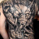 Фото рисунка тату дракон 12.10.2018 №144 - dragon tattoo - tattoo-photo.ru