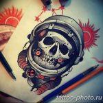 Фото рисунка тату космонавт 31.10.2018 №039 - cosmonaut tattoo - tattoo-photo.ru