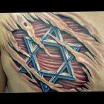 Фото рисунка тату шестиконечная звезда 12.10.2018 №011 - tattoo six poin - tattoo-photo.ru
