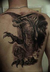 Фото татуировки дракон от 24.09.2018 №001 - dragon tattoo - tattoo-photo.ru
