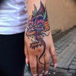 Фото татуировки дракон от 24.09.2018 №002 - dragon tattoo - tattoo-photo.ru