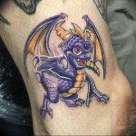 Фото татуировки дракон от 24.09.2018 №004 - dragon tattoo - tattoo-photo.ru
