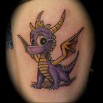 Фото татуировки дракон от 24.09.2018 №005 - dragon tattoo - tattoo-photo.ru