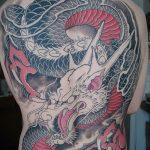 Фото татуировки дракон от 24.09.2018 №008 - dragon tattoo - tattoo-photo.ru