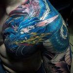Фото татуировки дракон от 24.09.2018 №013 - dragon tattoo - tattoo-photo.ru