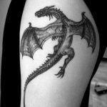 Фото татуировки дракон от 24.09.2018 №016 - dragon tattoo - tattoo-photo.ru