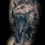 Фото татуировки дракон от 24.09.2018 №018 - dragon tattoo - tattoo-photo.ru