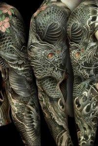 Фото татуировки дракон от 24.09.2018 №022 - dragon tattoo - tattoo-photo.ru