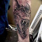 Фото татуировки дракон от 24.09.2018 №024 - dragon tattoo - tattoo-photo.ru