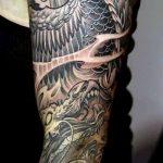 Фото татуировки дракон от 24.09.2018 №026 - dragon tattoo - tattoo-photo.ru