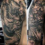 Фото татуировки дракон от 24.09.2018 №027 - dragon tattoo - tattoo-photo.ru