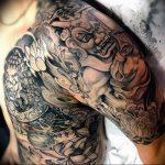 Фото татуировки дракон от 24.09.2018 №028 - dragon tattoo - tattoo-photo.ru